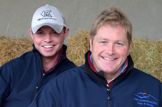 Assistant trainers - Andrew Duff and Shane Lyons