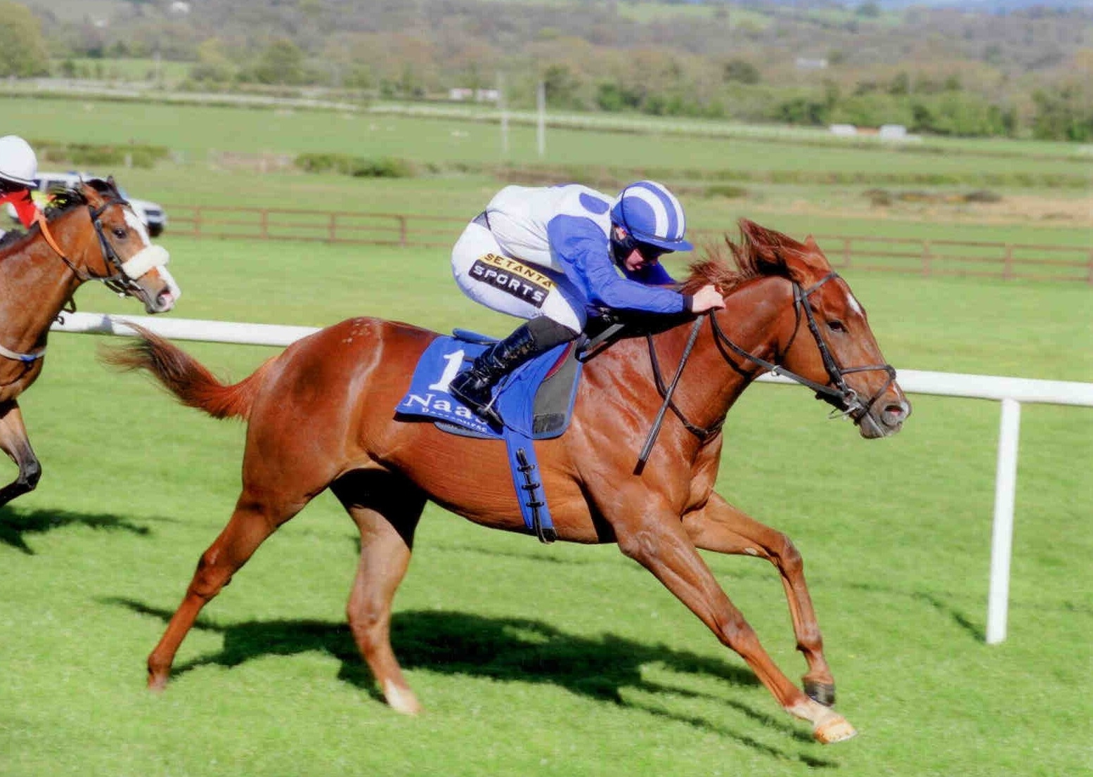 ARGENTERO breaks his maiden impressively at Naas on April 27th 2015