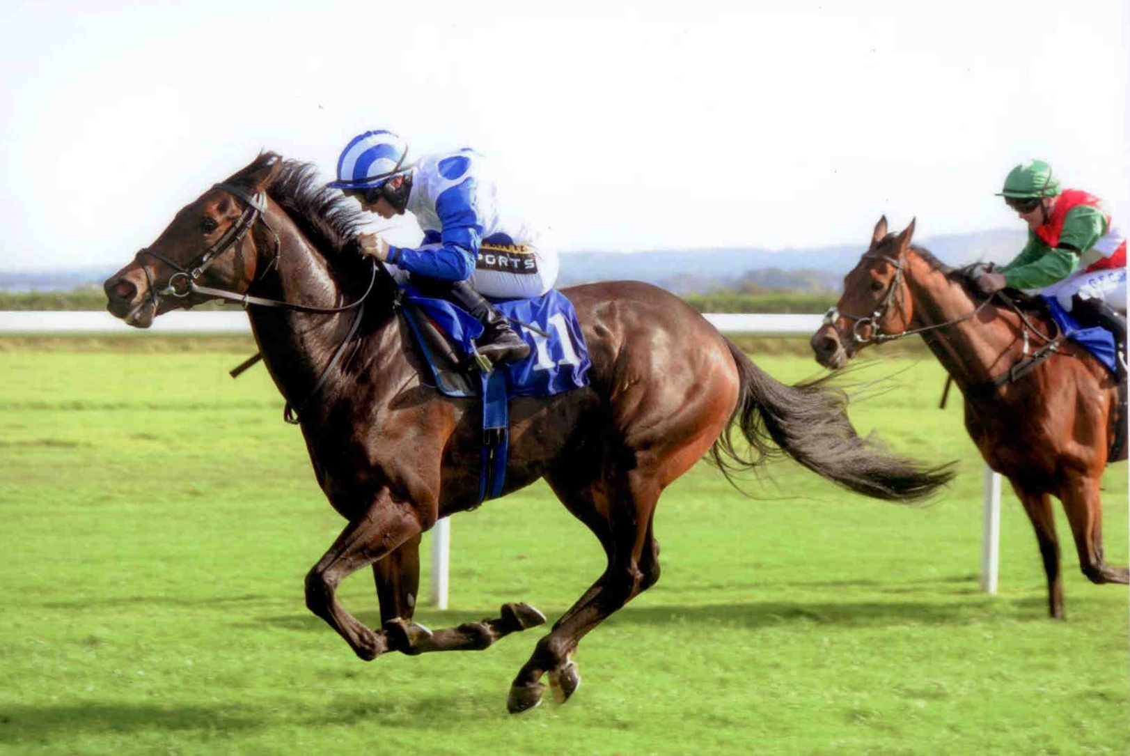 CAPE AQRAAN looks impressive at Roscommon on Monday 28th September 2015