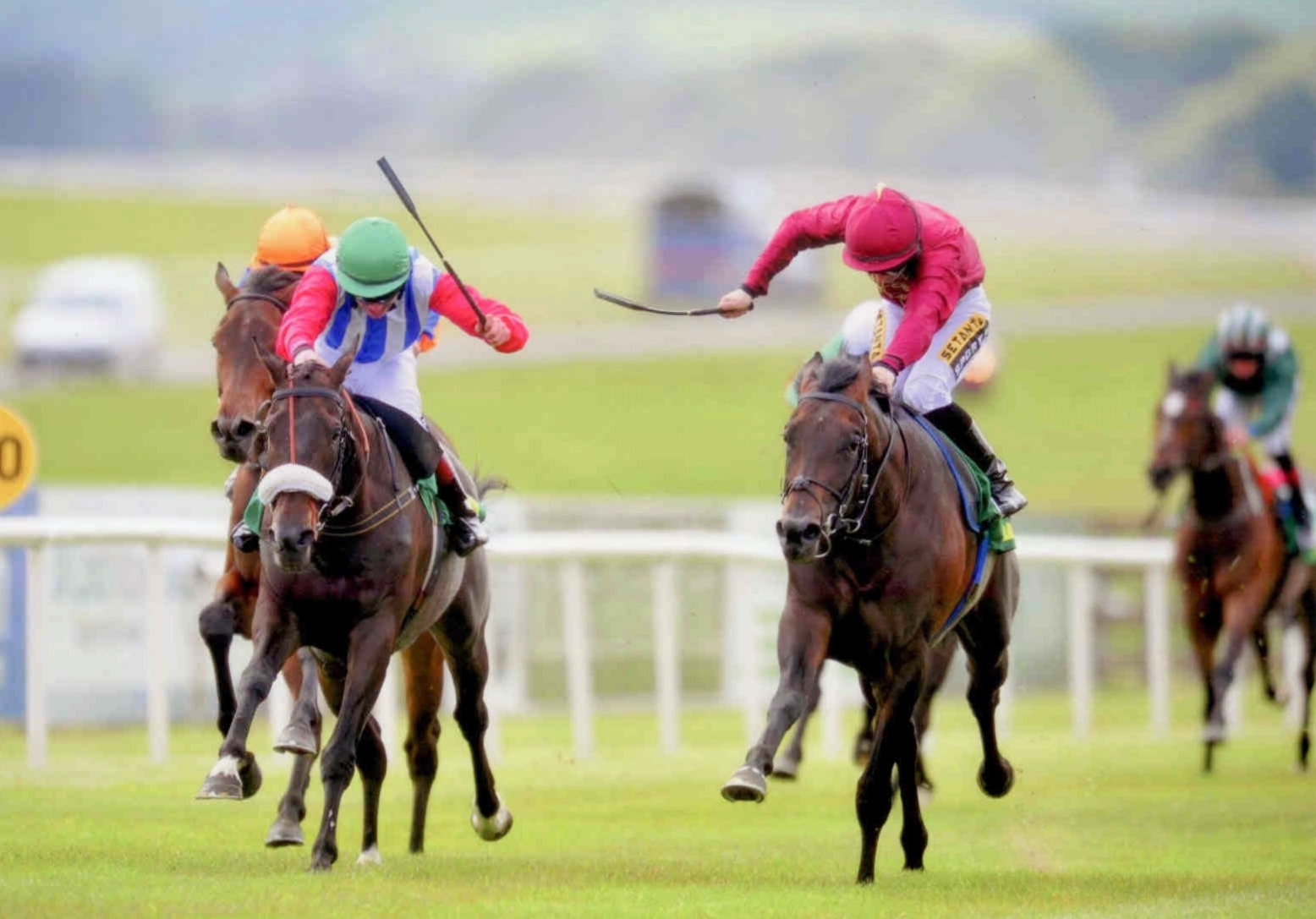 GAME SET DASH provides Qatar Racing Ltd, Ger and Colin with a double at the Curragh June 7th, 2015