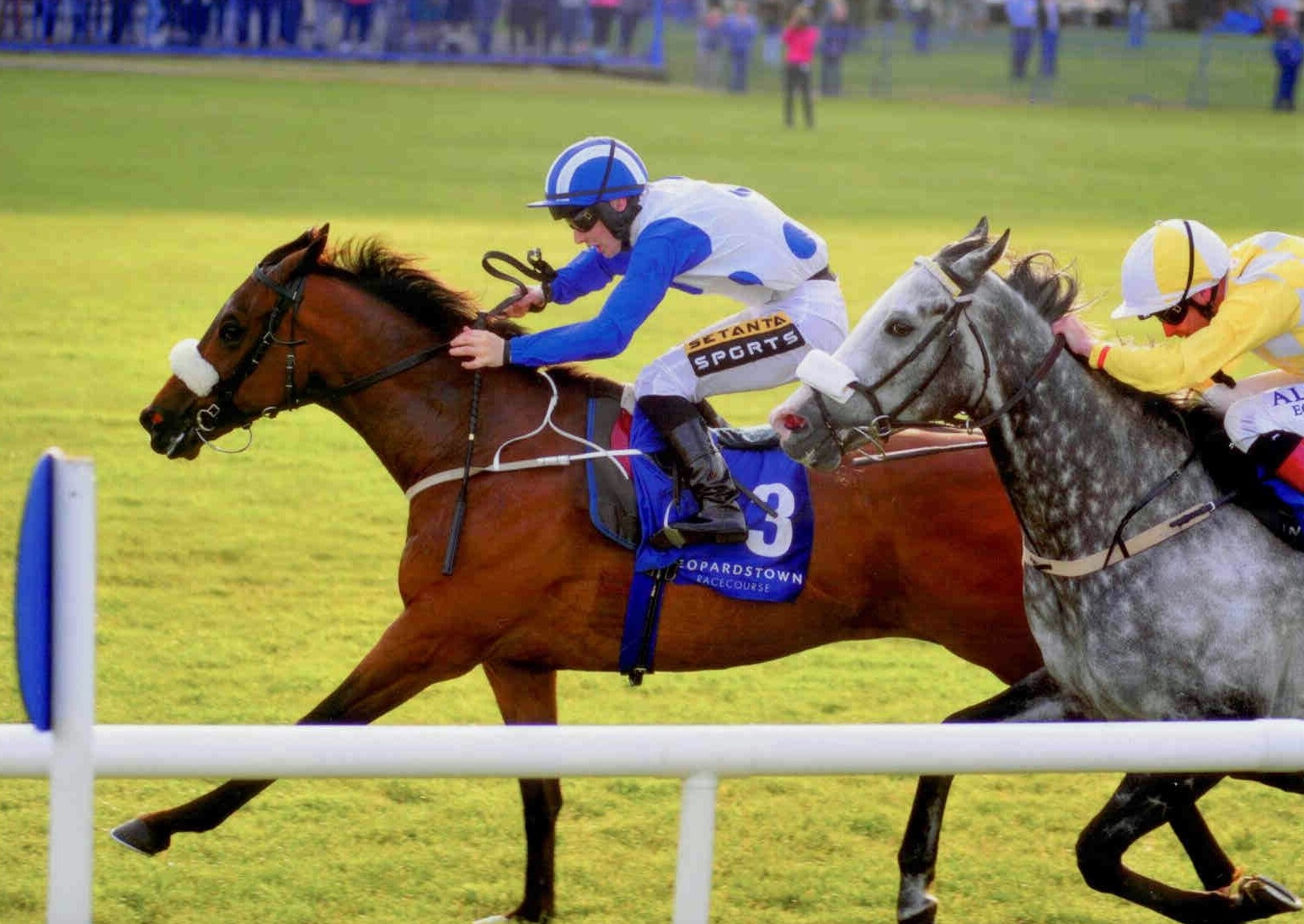 TENNESSEE WILDCAT wins the Glencairn St (Listed) at Leopardstown on June 11th 2015