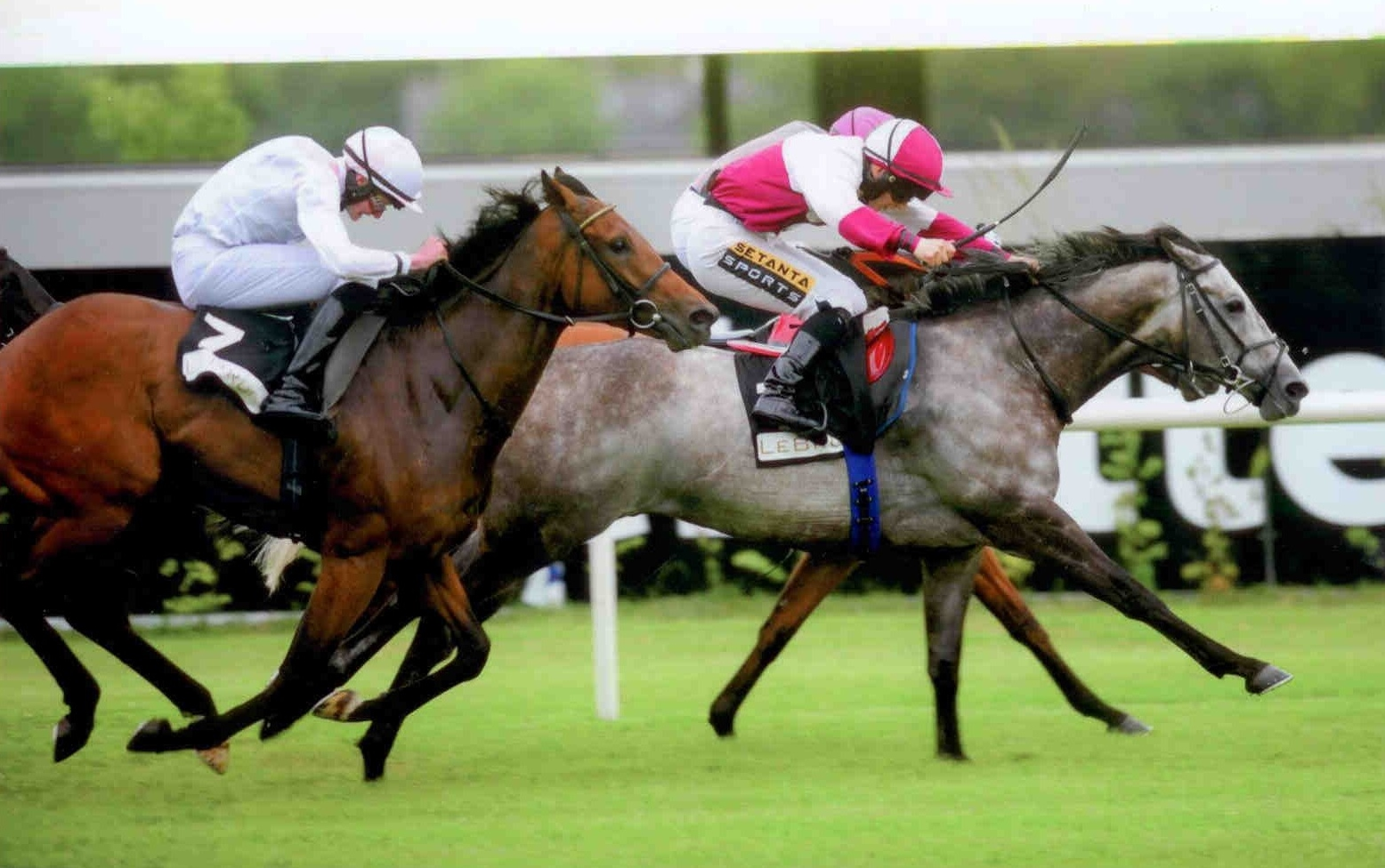 TOCCATA BLUE wins the Le Bruine Handicap at Leopardstown on 2nd July 2015
