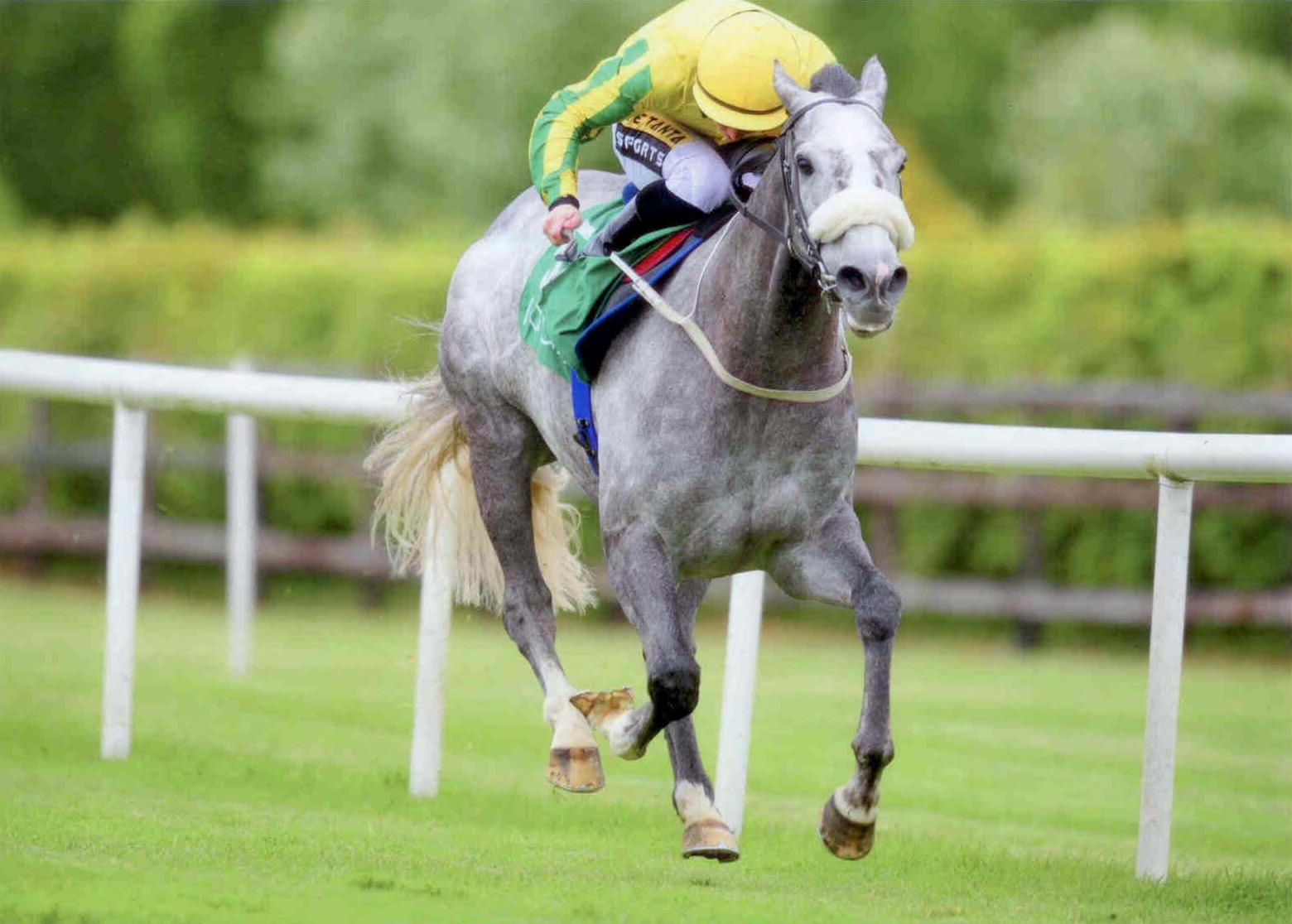 UNSINKABLE gets back to winning ways at Navan on May 30th 2015