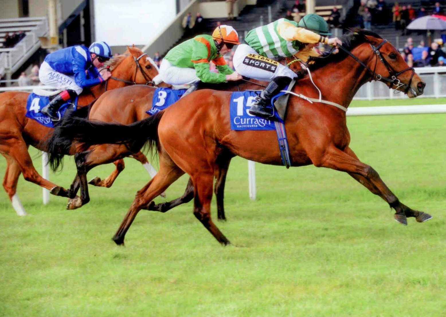 URBESTCHANCE wins first time out at the Curragh on May 4th 2015 for the RMS Syndicate