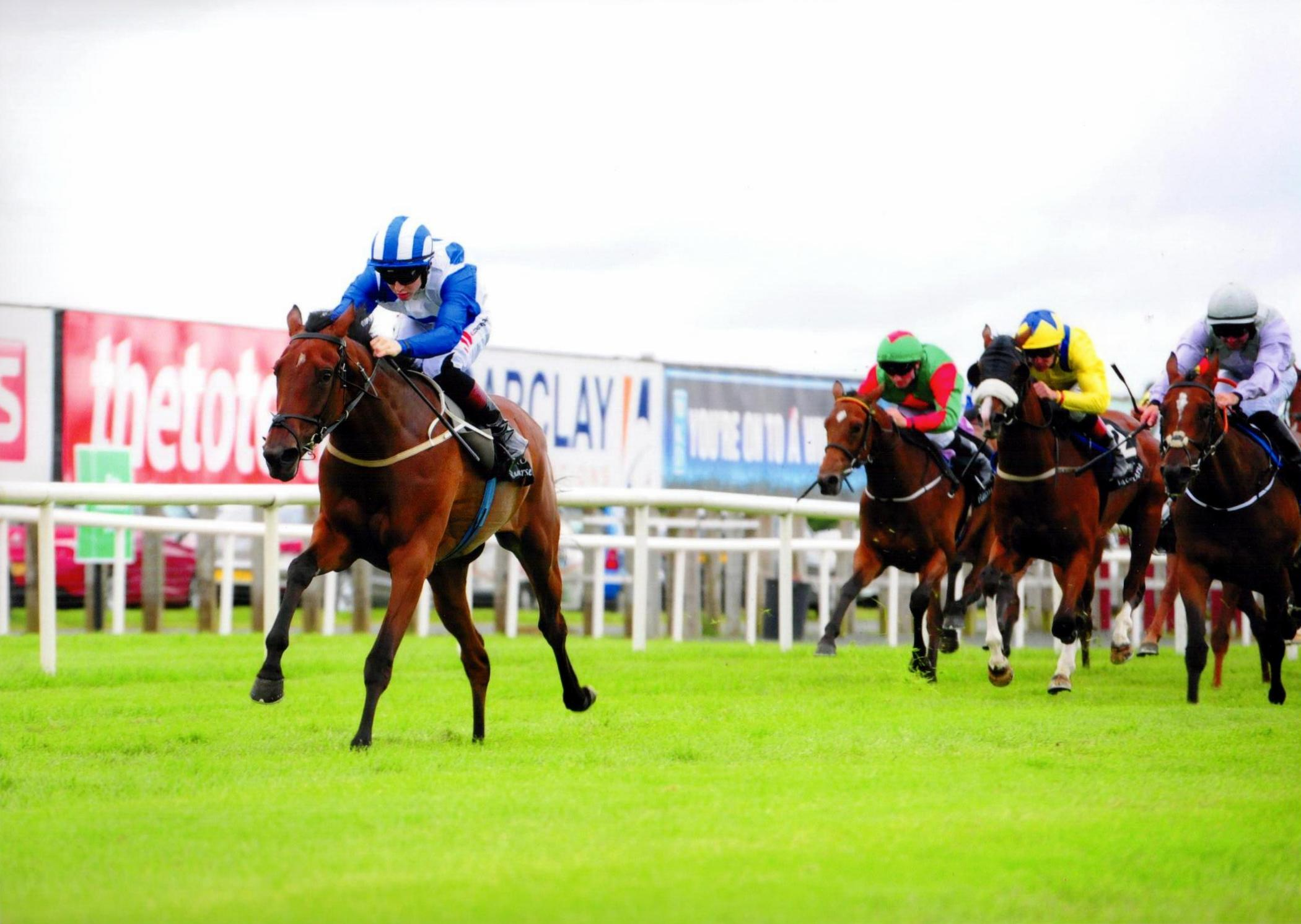 DANCING WAVES wins her maiden in fine style at Down Royal under Colin Keane 22nd July 2016
