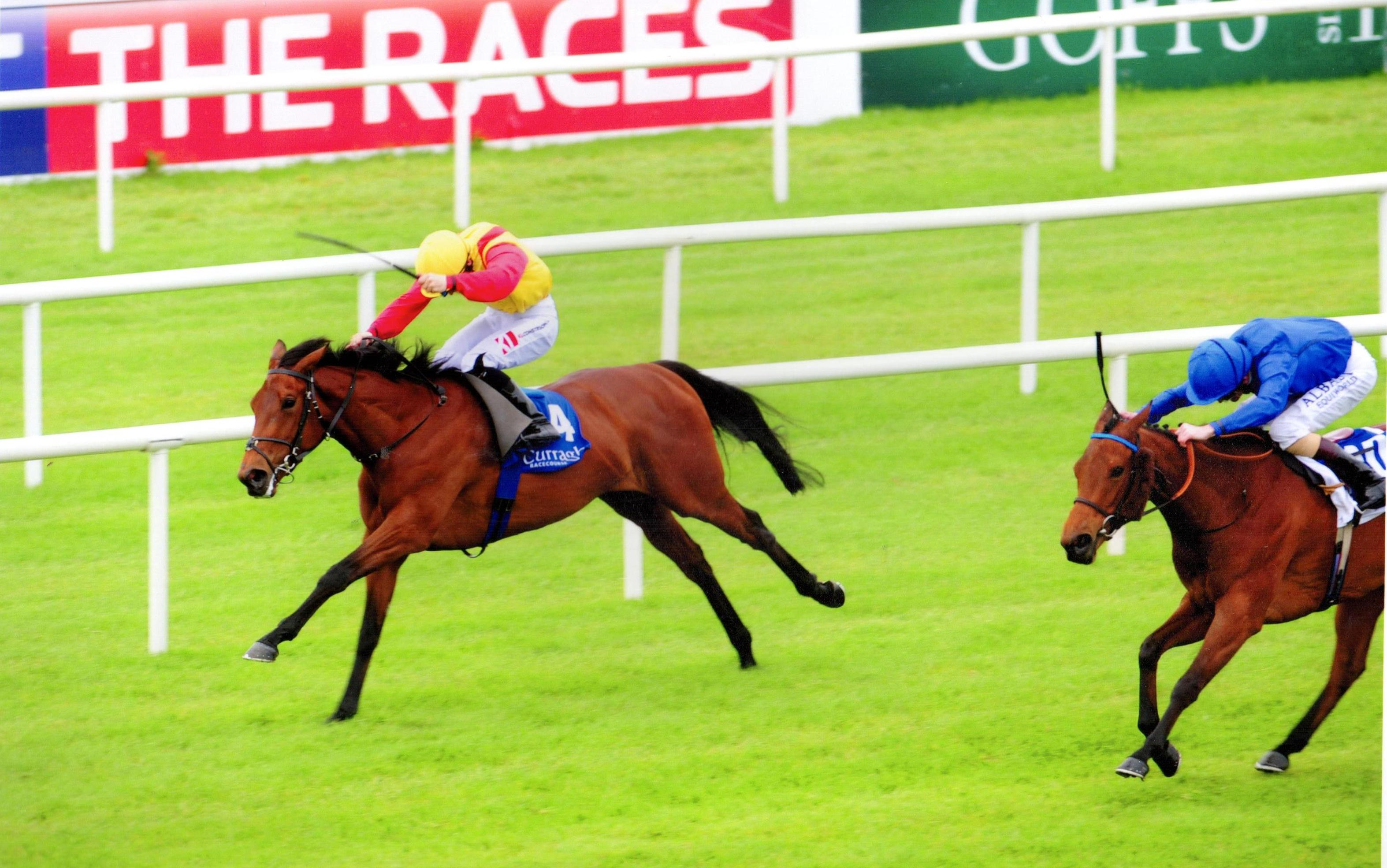 ELEGANT POSE brings up a double for Ger and Colin at The Curragh 20th May 2017