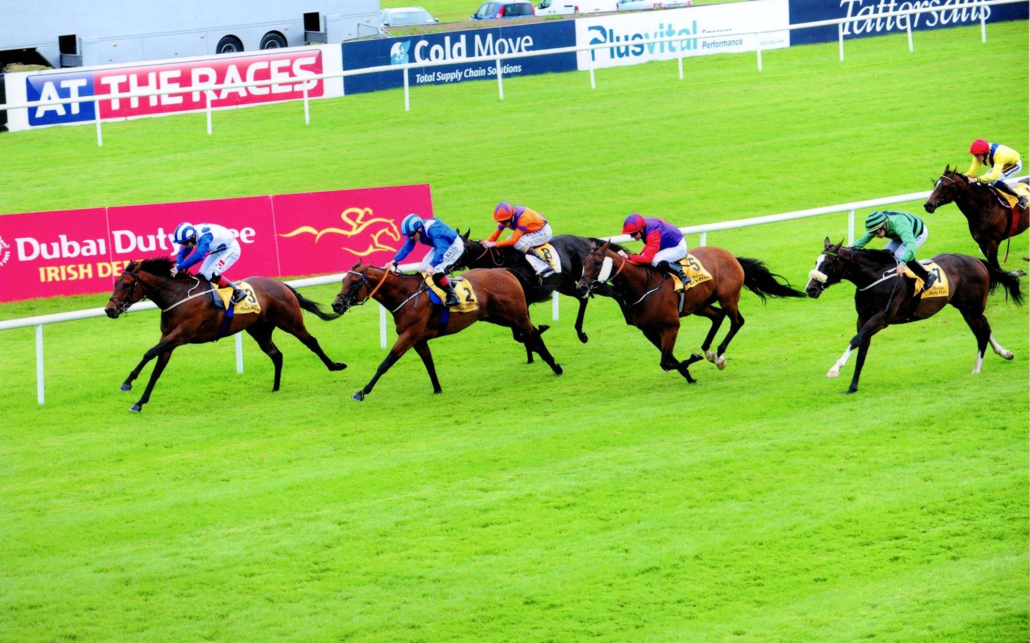 TONY THE GENT winning at The Curragh on Derby Day 1st July 2017