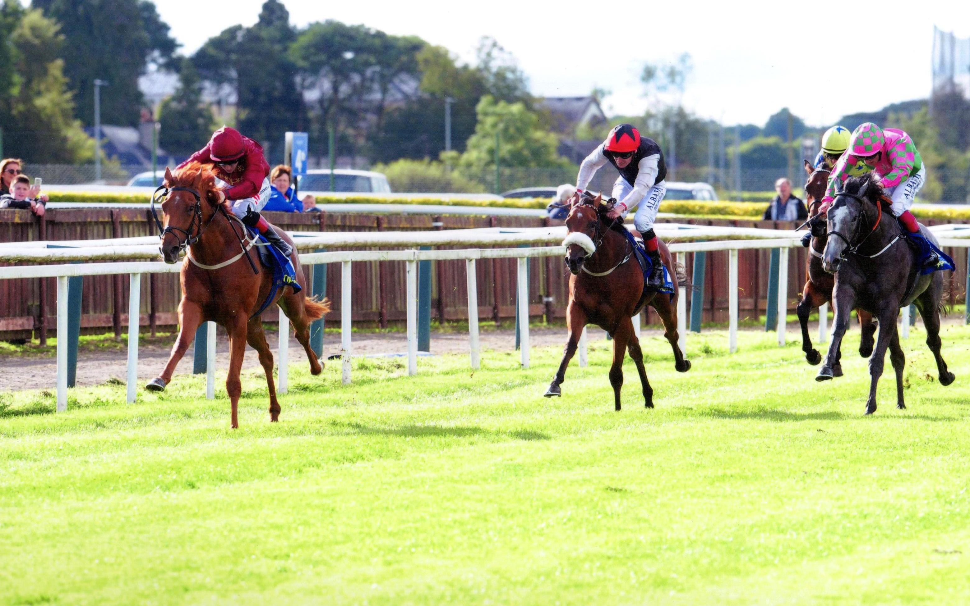 TREASURING storms to victory at Tipperary 11th August 2017