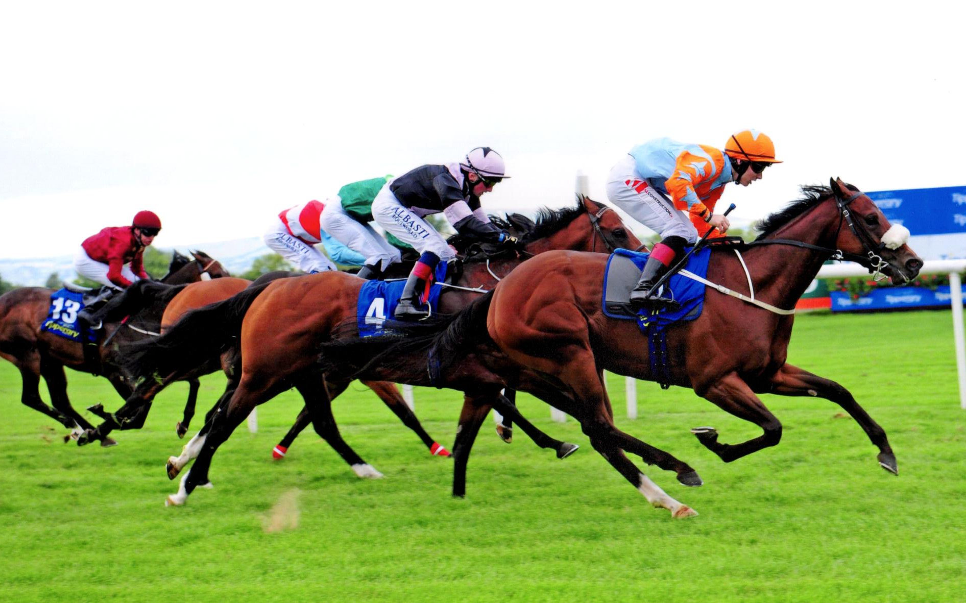 BLUE ULURU earns Listed blacktype in the Kilfrush Stud Abergwaun Stks - Tipperary, 30th August 2018.