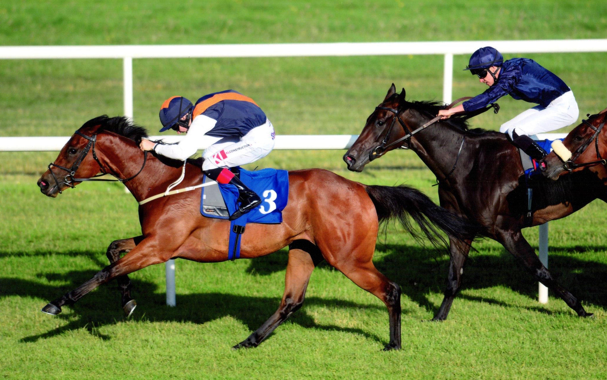 HYPNOTIC FORCE forges clear to win her maiden under Colin Keane at Roscommon, 9th July 2018