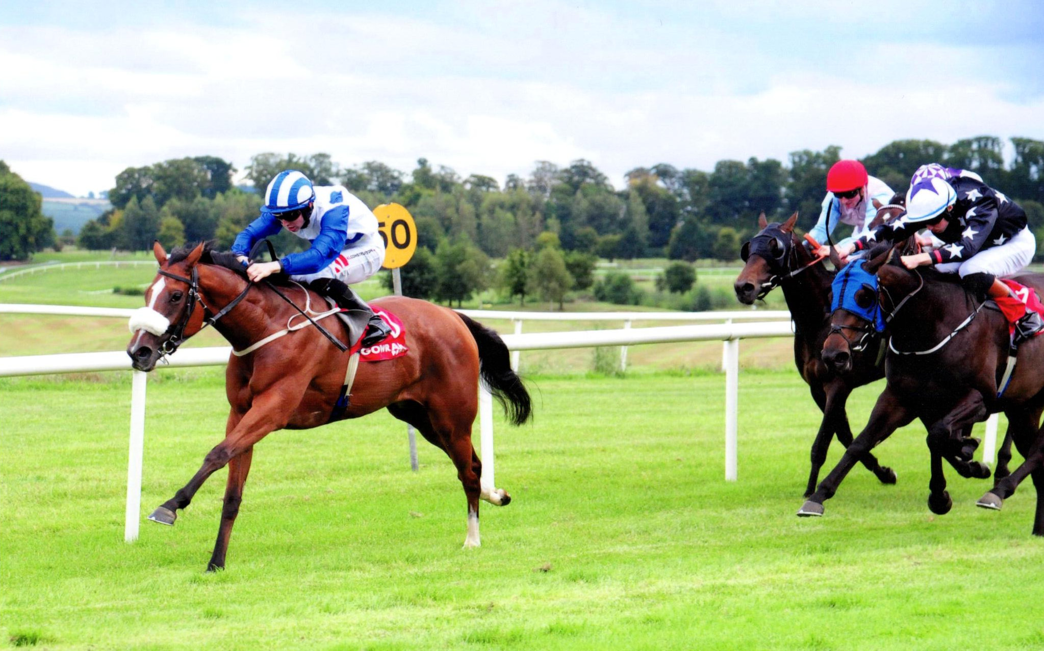 ZALZAR and Colin Keane get the job done at Gowran Park, 5th September 2018