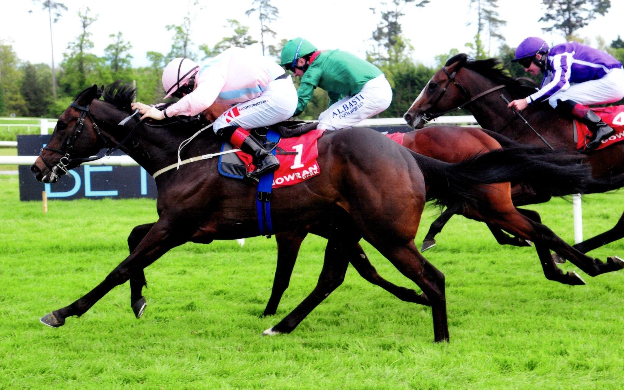 BASIC LAW lands his second success of the season at Gowran, 5th May