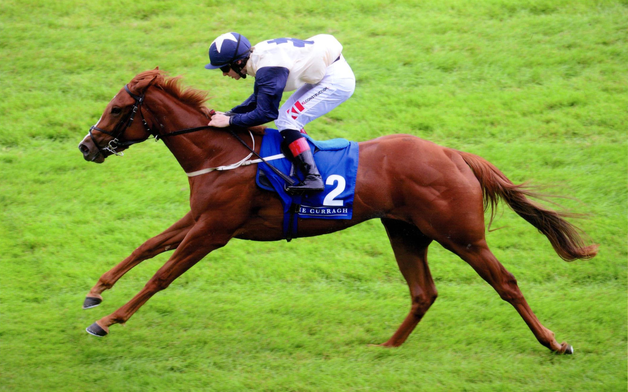 FRENCH RAIN impresses first time out at The Curragh for owners Newtown Anner Stud, 21st July 2019