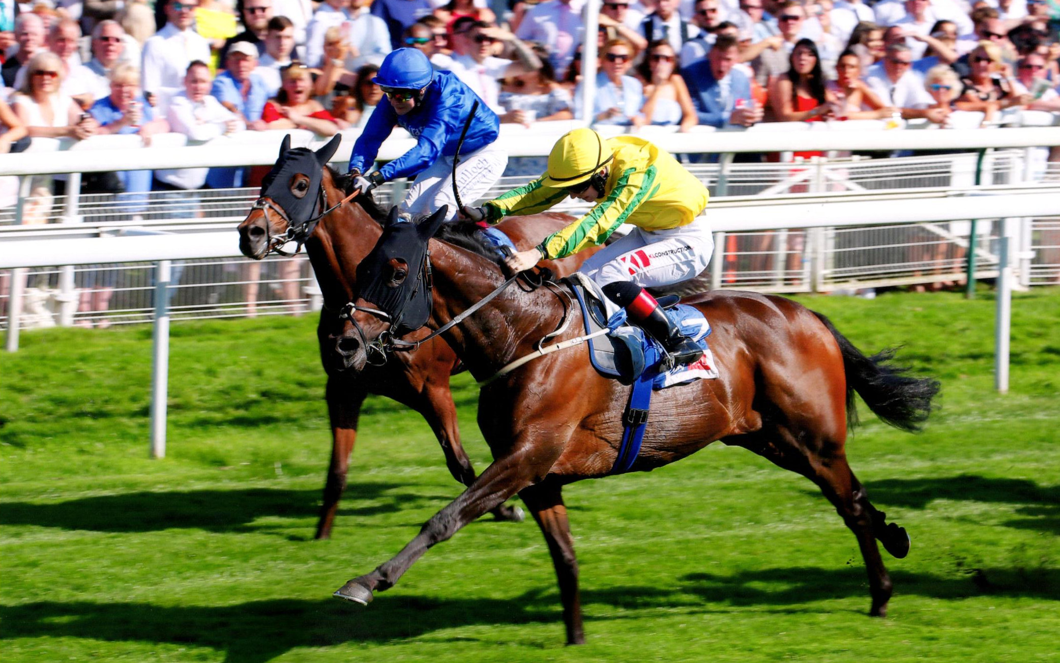MUSTAJEER reigns supreme in the £1m Sky Bet Ebor Handicap at York, 24th August 2019