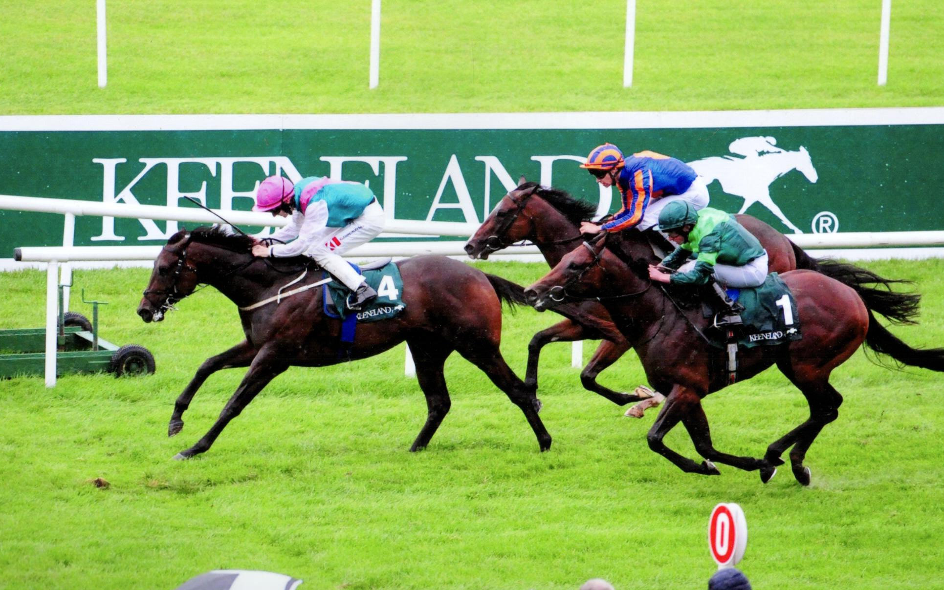 SISKIN lands the Phoenix Keeneland Stks Group 1 - Curragh, 9th Aug 2019