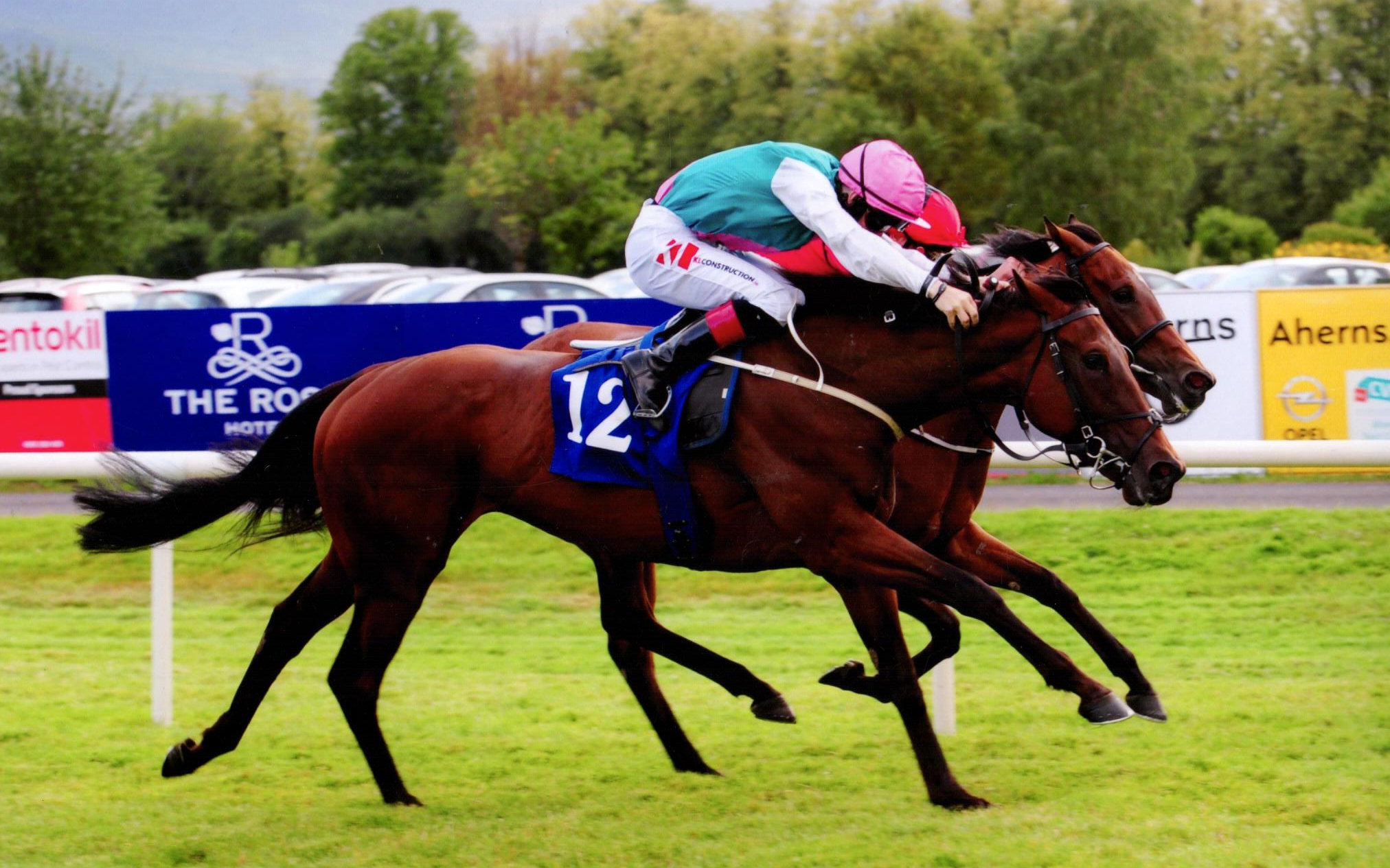 VIADERA lands the Cairn Rouge Listed Stakes (1m) by just a short head at Killarney, 17th July 2019